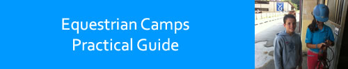 Practical guide for the equestrian camps